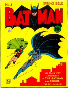 Look no further than Bob Kane's original vision