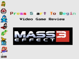 Reviewing Mass Effect 3