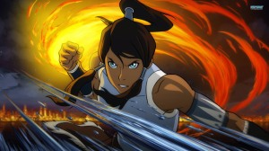 The main character, Korra, is the newest Avatar of the era. She is the reincarnation of the previous series main character, Aang.