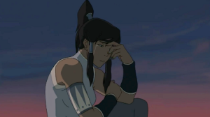 Sorry to break this to you, Korra. But your show has it's flaws.