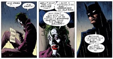 Batman wants to help
