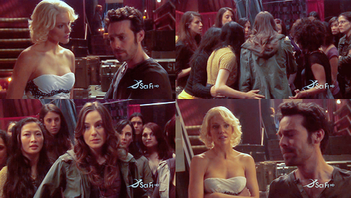 Baltar and his harem