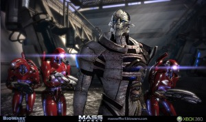 Saren and his army of jerks