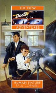 Original novel cover written by Peter Cornell featuring the Seventh Doctor.